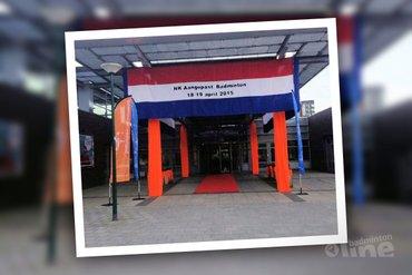 Eerste dag NK Aangepast Badminton 2015 klaar