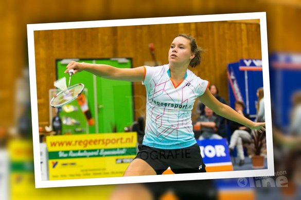 Soraya de Visch Eijbergen in de finale Victor Dutch International - René Lagerwaard