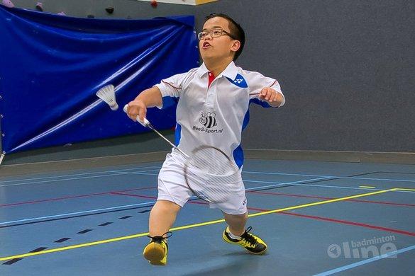 NK Aangepast Badminton 2015: Hattrick voor Lie, Van de Burgwal en Modderman - Edwin Sundermeijer