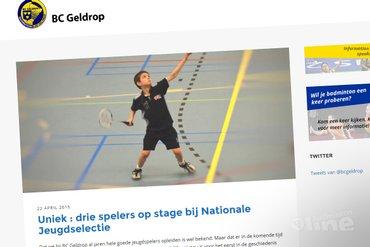 Drie Geldrop-spelers op stage bij nationale jeugdselectie