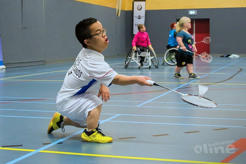 Nationale selectie aangepast badminton reist 2 mei af naar Epe