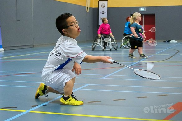 Nationale selectie aangepast badminton reist 2 mei af naar Epe - Edwin Sundermeijer