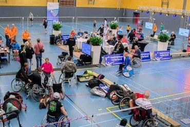 Nederlandse Kampioenschappen aangepast badminton in Veenendaal