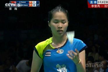 Ratchanok Intanon winnaar Badminton Asia Championships