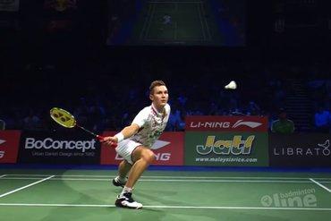 Mark Caljouw verrast op EK badminton