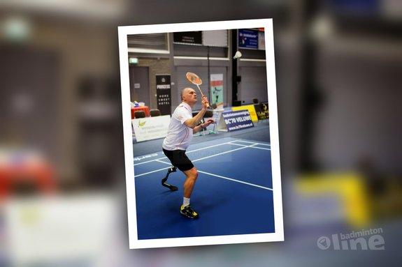 Deze afbeelding hoort bij 'Eddy Boerman: Geslaagde demo aangepast badminton in Epe' en is gemaakt door René Lagerwaard