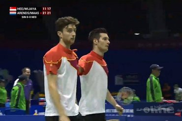 Dongenaar Jelle Maas maakt indruk op WK badminton