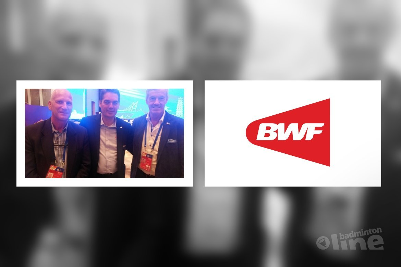 Nederlandse en Deense badmintonbestuurders treffen elkaar in China