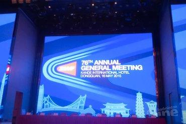 Annual General Meeting van BWF: voorlopig geen nieuwe puntentelling!