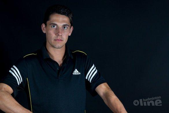 Badmintonshirt van Erik Meijs zoekt leuke opdruk - René Lagerwaard