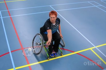 Ilse van de Burgwal assistent-trainer nationale selectie para-badminton