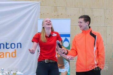 Joran Kweekel en Marlies Baan winnaars tijdens Junior Master finaledag in Hoofddorp