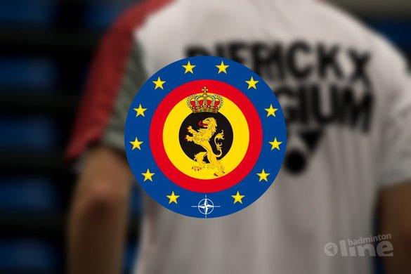 Matijs Dierickx behaalt criteria voor Commissie Topsport van Belgische Defensie - Fons van der Vorst / badmintonline