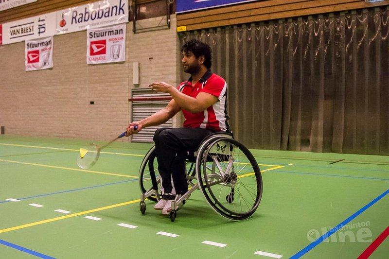 Aangepast Badminton Sliedrecht: Brouwer, Boerman en Burgwal winnen enkeltoernooi - Edwin Sundermeijer