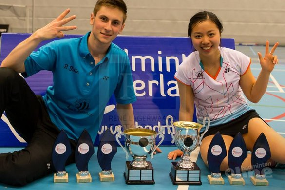 Zes Nederlandse deelnemers Orleans International in Frankrijk - René Lagerwaard