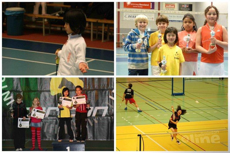 Brief aan de Nederlands Kampioene U13: Lieve Amy - Kian Tan / Marc Pastoors