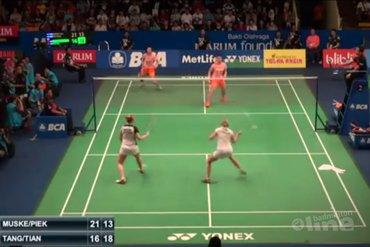 Thom Groot Nibbelink: Ja, badminton ja!