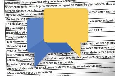 Regiovergaderingen 2015: 'Chatten met Badminton Nederland'