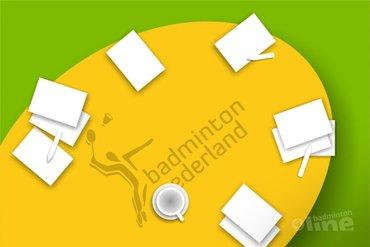 Zaterdag 27 juni 2015: Jaarvergadering Badminton Nederland in VELO-hal Wateringen