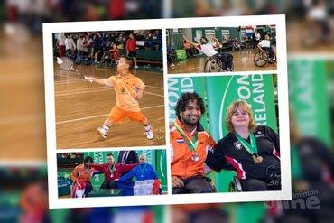 Zilver en brons op Carlton Irish Para-Badminton International
