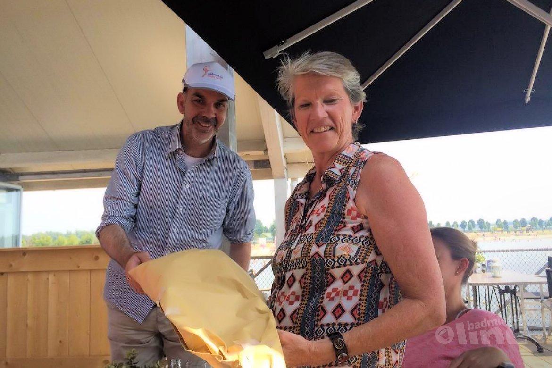 Karin van der Valk neemt afscheid van medewerkers bondsbureau