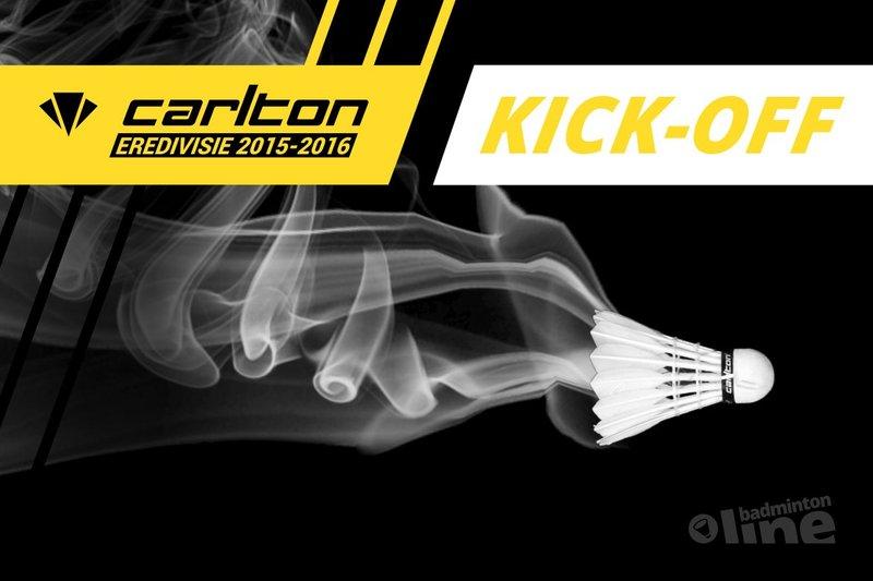 Kom naar de Kick-off Carlton Eredivisie 2015 - badmintonline.nl