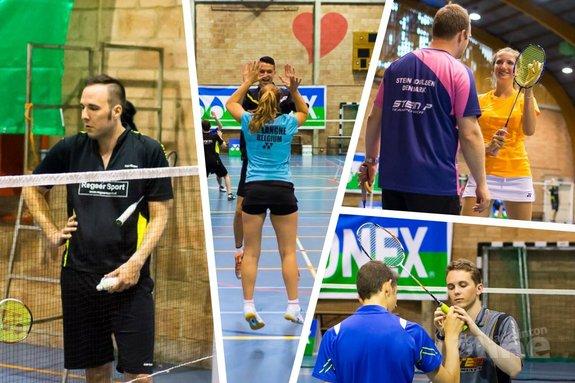 Badmintonplezier in België bij het Badcoach Summer Camp - René Lagerwaard