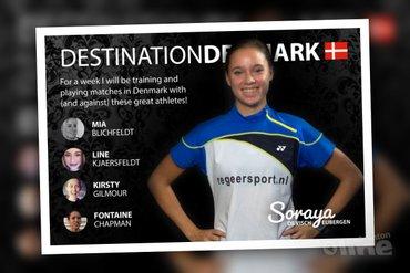 Deense trainingsweek voor Soraya de Visch Eijbergen