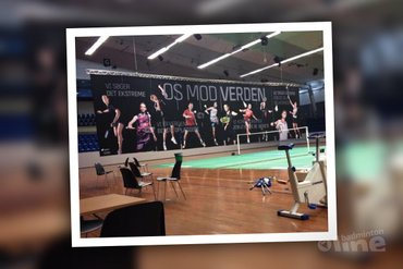 Dutch number one Soraya de Visch Eijbergen finishes training week in Denmark