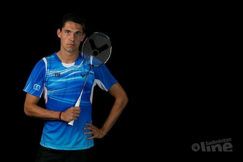 Deze afbeelding hoort bij 'Badmintonspeler Erik Meijs betrokken bij zwaar verkeersongeluk in Duitsland' en is gemaakt door René Lagerwaard
