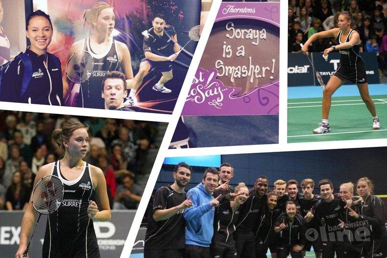 Deze afbeelding hoort bij 'Soraya de Visch Eijbergen and Eefje Muskens depart from Surrey Smashers' en is gemaakt door Surrey Smashers / Soraya de Visch Eijbergen / badmintonline.nl