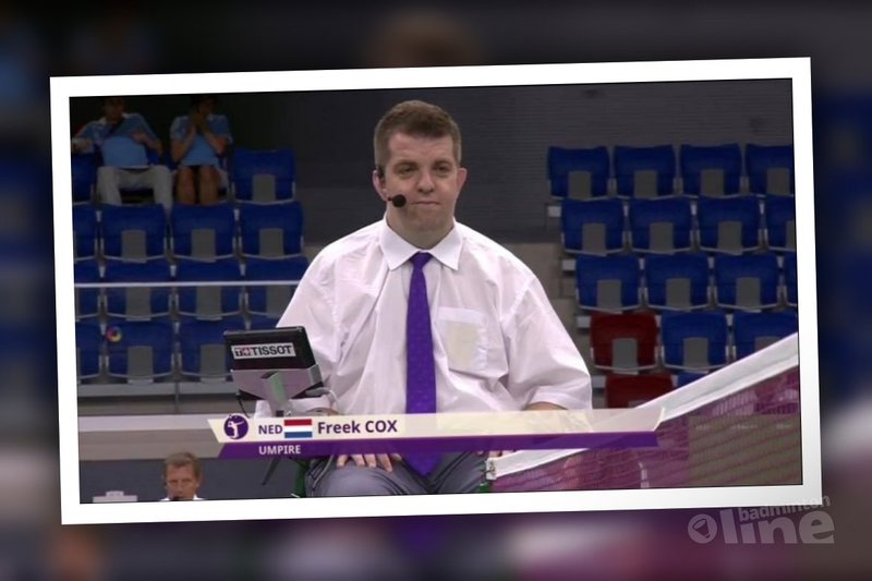 Op een dag weet je het: je wordt badminton scheidsrechter! - Baku European Games 2015