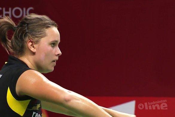 Tegenstander topbadmintonner Soraya de Visch Eijbergen test positief op dopinggebruik - BWF