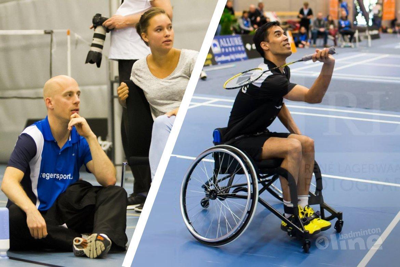 Eric Pang en Robbert de Keijzer nieuwe talentcoaches Badminton Nederland