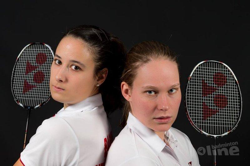 Ook Samantha Barning en Iris Tabeling vroeg onderuit op WK badminton - René Lagerwaard