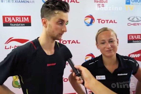 Deze afbeelding hoort bij 'NH Nieuws: Piek en Arends stunten bijna bij WK Badminton' en is gemaakt door Badzine