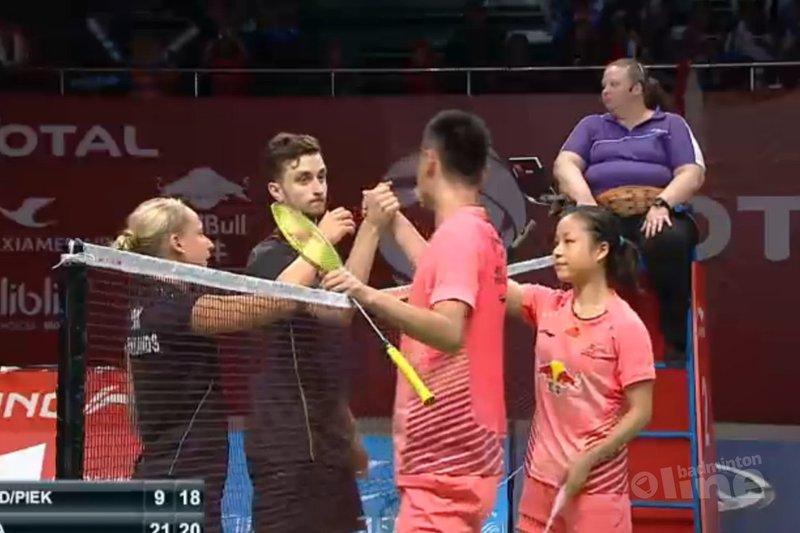Duo Arends-Piek stunt niet nogmaals op WK badminton  - BWF