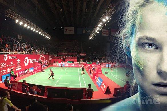 Iris Tabeling: met schmink op je gezicht naar de Yonex Dutch Open!? - Iris Tabeling / badmintonline.nl