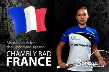Soraya de Visch Eijbergen goes to France!