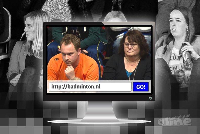 Deze afbeelding hoort bij 'Tijdelijk communicatiemanager Remco Hol: een website op zich is geen communicatiemiddel' en is gemaakt door Edwin Sundermeijer / badmintonline.nl