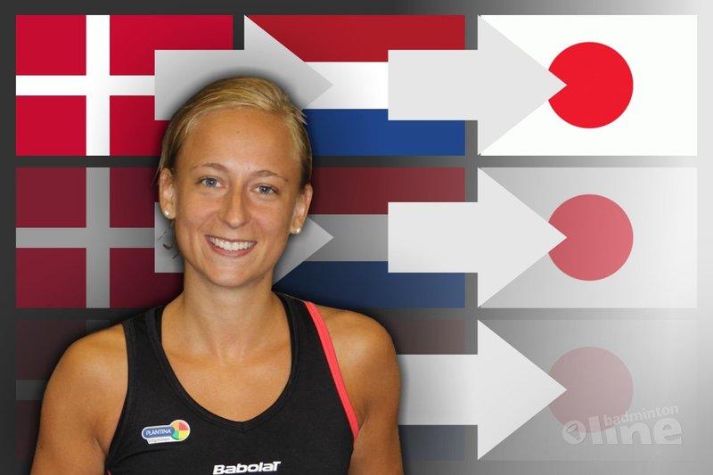 Selena Piek jetting off to Tokyo tonight - badmintonline.nl / Badminton Nederland