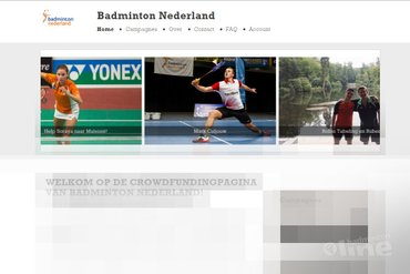 Lancering crowdfunding-platform Badminton Nederland