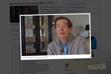 Gerard van Zundert na 22 jaar weg als VELO-voorzitter
