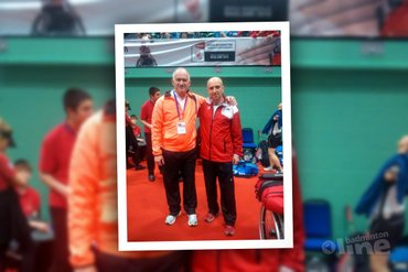 Eddy Boerman klaar op WK Aangepast Badminton 2015
