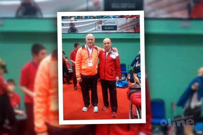 Eddy Boerman klaar op WK Aangepast Badminton 2015 - Eddy Boerman