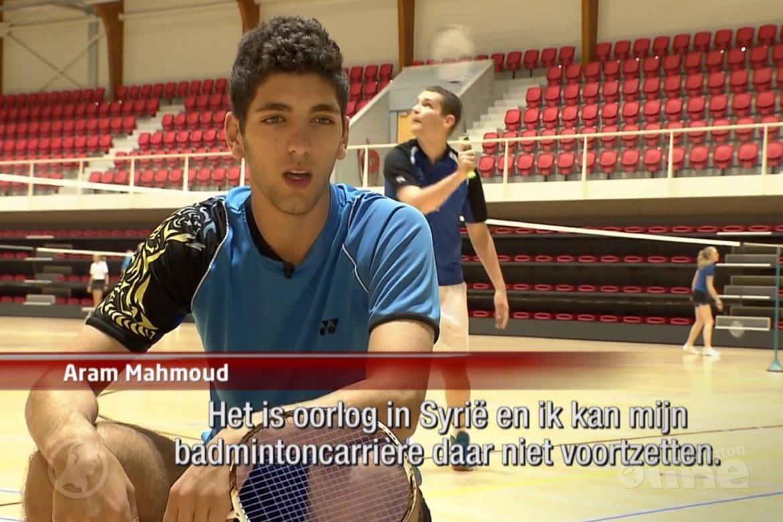 Vluchteling blijkt Syrisch kampioen badminton