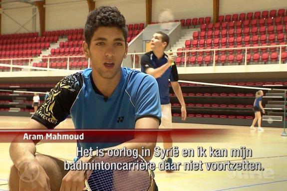 Vluchteling blijkt Syrisch kampioen badminton - Hart van Nederland
