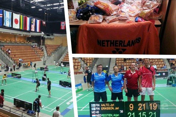 Interim-verslag WK Veteranen in Zweden - Badminton Veteranen Nederland