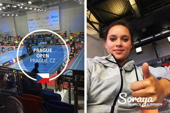 Soraya de Visch Eijbergen starts in the Prague Open 2015 opposite Nicola Cerfontyne - Soraya de Visch Eijbergen