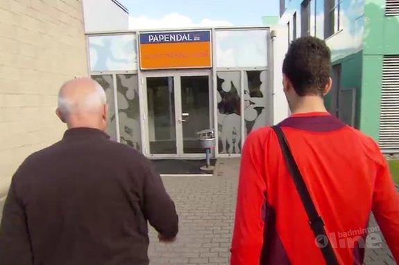 Deze afbeelding hoort bij 'Syrische badmintontopper traint met Nederlandse selectie' en is gemaakt door NOS